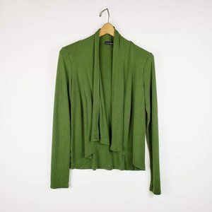 Cut Loose olive green open front cardigan S